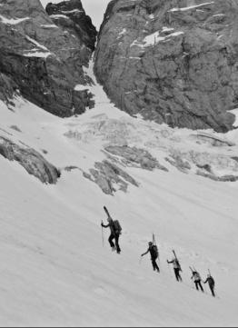 vignemale esquí de montaña con guía