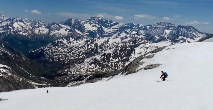 vignemale esqui de montaña con guía