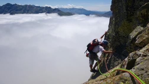 guias de escalada Midi d'Ossau