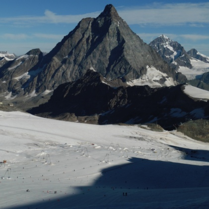 La inconfundible figura del Cervino / Matterhorn