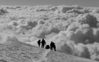 Guías de montaña en los Alpes