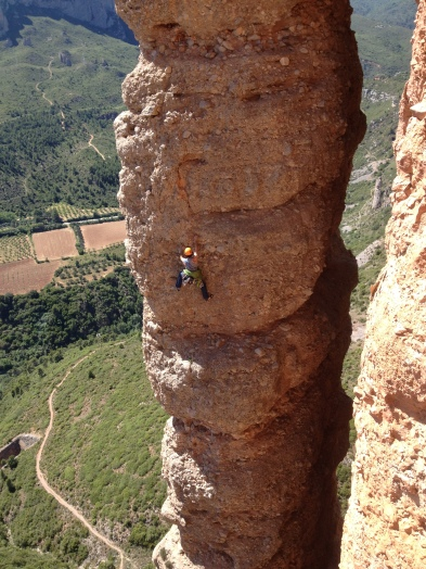 Riglos climbing guide