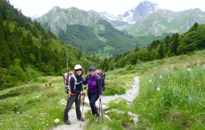Llegando al Valle d'Ossau. 4 días inmersos en el Pirineo!