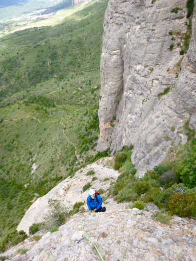Riglos guided climbs