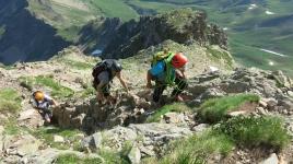 Midi d'Ossau guia montaña Fede San Sebastian