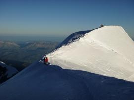 Mont Blanc guía de montaña