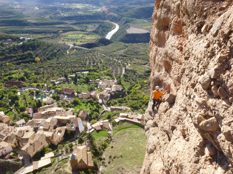 Riglos Climbing