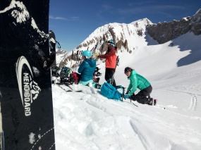 Curso de SPLITBOARD en el Valle de Tena. SPLITBOARD course in Tena Valley, Pyrenees