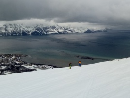 Esqui de montaña en Noruega