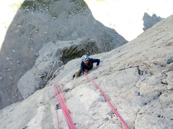 Verticalidad en la primera parte de la Murciana 78