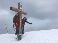 Cumbre del Alphubel, 4.206m