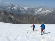 Vistas al Cervino/ Matterhorn y Obergabelhorn