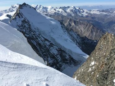 Taschhorn, implacable montaña valaisana