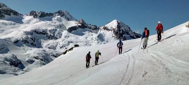 Carros de Foc con guía de esquí