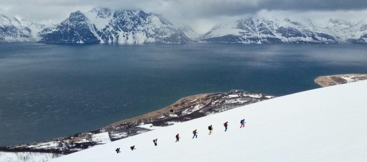 noruega guía de montaña