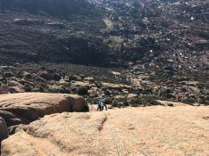 guia de escalada alpina la pedriza